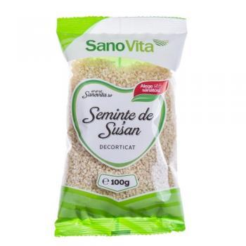 Seminte decorticate de susan 100 gr SANO VITA