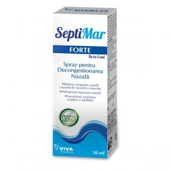 Septimar forte, spray pentru decongestionarea nazala 30 ml VIVA PHARMA