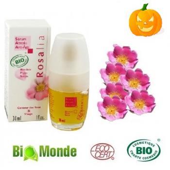 Serum bio antirid cu ulei de rosa mosqueta - 30ml 30 ml NATURA MONDE