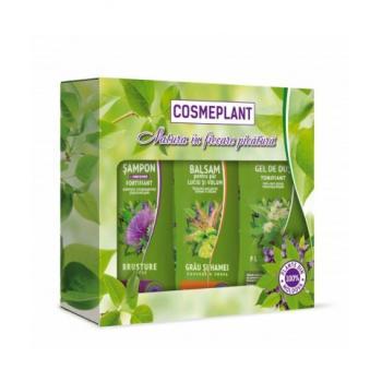 Set nr.2-cosmeplant ingrijire par si corp cu extract de brusture si flori de tei 1 gr COSMEPLANT