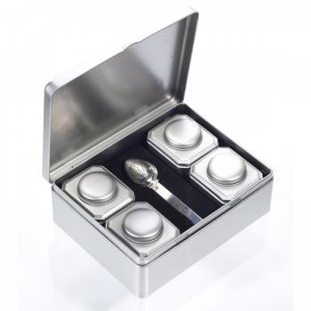 Set pentru ceai silver star 1 gr SOLARIS