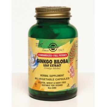 Sfp ginkgo biloba leaf extract 60 cps SOLGAR