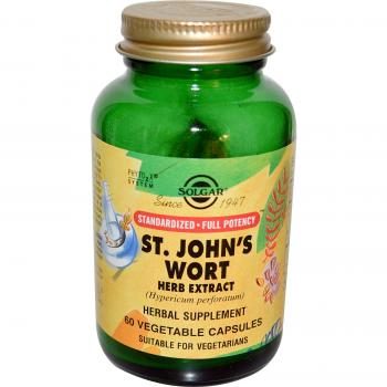 Sfp st. john-s wort herbal extract 60 cps SOLGAR