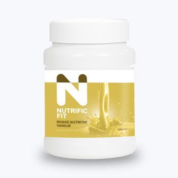 Shake cu vanilie 500 gr NUTRIFIC FIT