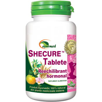 Shecure, reechilibrant hormonal 100 tbl AYURMED