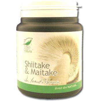 Shiitake & maitake 150 cps PRO NATURA