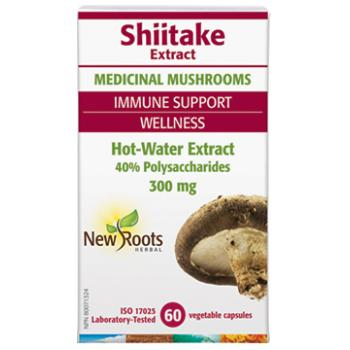 Shiitake Extract 60 cps NEW ROOTS