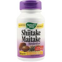 Shiitake maitake standardized 60cps NATURES WAY