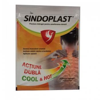 Sindoplast plasturi cu hidrogel 3 gr FITERMAN