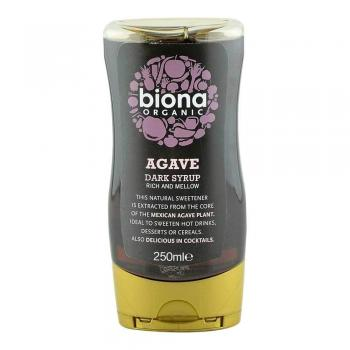 Sirop agave dark eco 250 ml BIONA ORGANIC