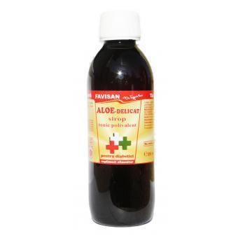 Sirop aloe delicat pentru diabetici j001 250 ml FAVISAN
