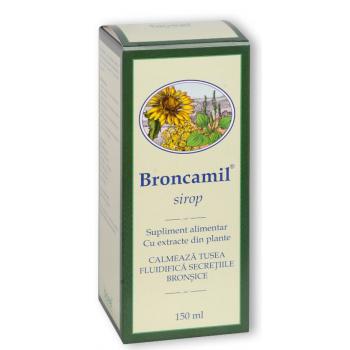 Sirop broncamil pentru calmarea tusei 150 ml BIOEEL