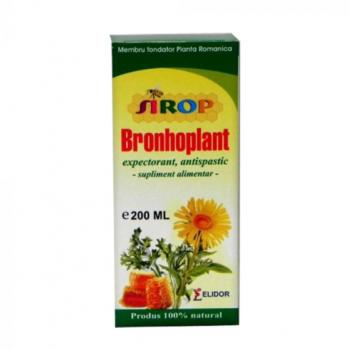 Sirop bronhoplant 200 ml ELIDOR