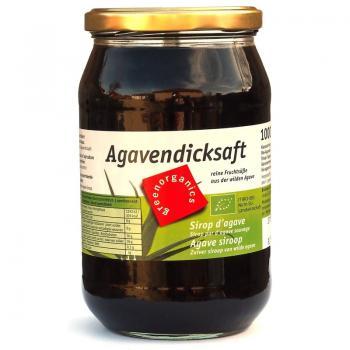 Sirop concentrat de agave bio 1 ml GREEN ORGANICS