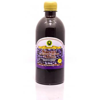 Sirop cu extract natural de afine fara zahar 500 ml HYPERICUM