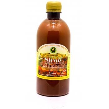 Sirop cu extract natural de catina alba fara zahar 500 ml HYPERICUM