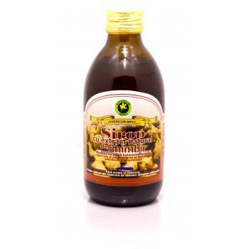 Sirop cu extract natural de ghimbir 250 ml HYPERICUM