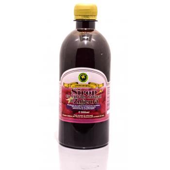Sirop cu extract natural de zmeura 500 ml HYPERICUM