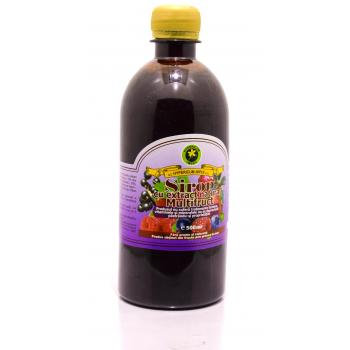 Sirop cu extract natural multifruct 500 ml HYPERICUM