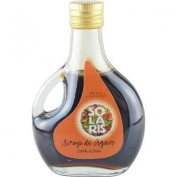 Sirop de agave dark & raw 250 ml SOLARIS