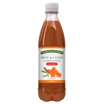 Sirop de catina cu miere de albine 500 ml VERRE DE NATURE