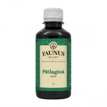 Sirop de patlagina 200 ml FAUNUS PLANT