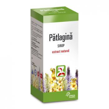 Sirop de patlagina 100 ml OMEGA PHARMA