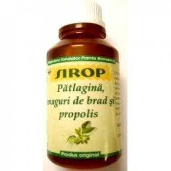 Sirop de patlagina si propolis 100 ml ETNA 2001