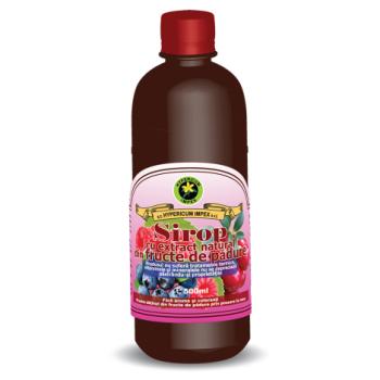 Sirop din fructe de padure 500 ml HYPERICUM