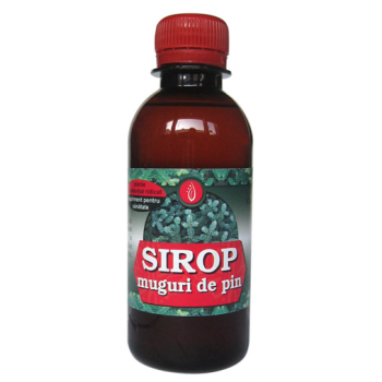Sirop din muguri de pin 200 ml SANITAS NATURAE