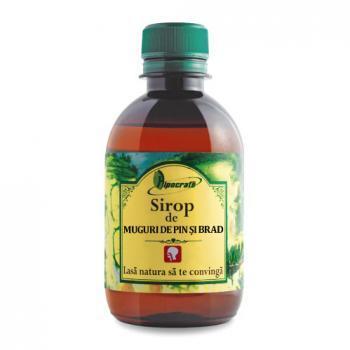 Sirop din muguri de pin si brad 250 ml HIPOCRATE