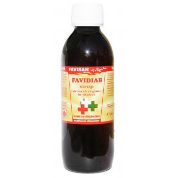 Sirop favidiab j002 250 ml FAVISAN