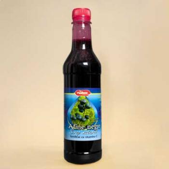 Sirop pasteurizat de afine negre 480 ml NATEX