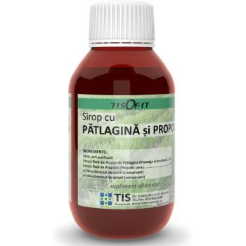 Sirop patlagina+propolis  150 ml TIS