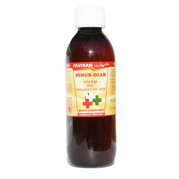 Sirop pinus-diab j004 250 ml FAVISAN