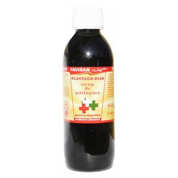 Sirop plantago-diab j005 250 ml FAVISAN