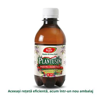 Sirop Plantusin pentru diabetici r29 250 ml FARES