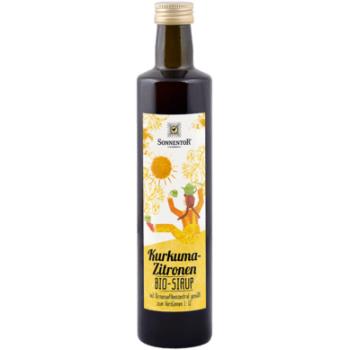 Sirop turmeric-lamai fara zahar bio 500 ml SONNENTOR