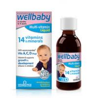 Sirop wellbaby multi vitamin