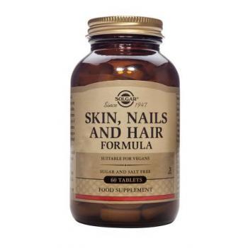 Skin, nails and hair formula 60 tbl SOLGAR