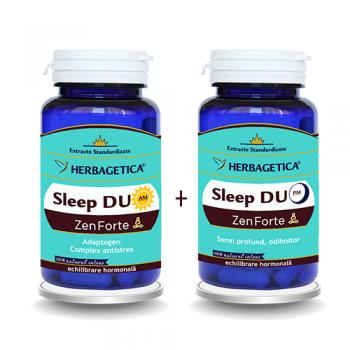Sleep duo am/pm zen forte 120+120 cps HERBAGETICA