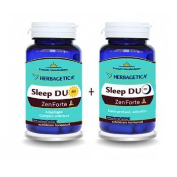 Sleep duo am/pm zen forte 60+60 cps HERBAGETICA