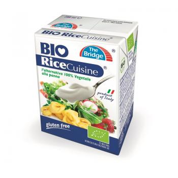 Smantana din orez bio 200 ml THE BRIDGE