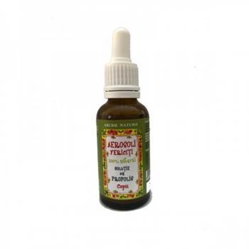 Solutie pentru aerosoli cu propolis pentru copii-aerosoli fericiti 30 ml PRISACA TRANSILVANIA