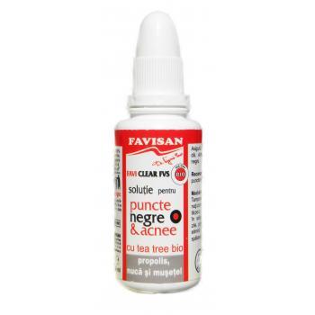 Solutie pentru puncte negre m001 30 ml FAVISAN