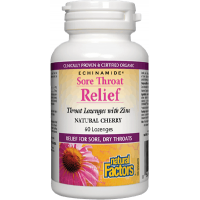 Sore throat relief  60tbl NATURAL FACTORS