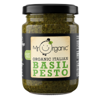 Sos mr.organic pesto cu busuioc vegan eco 130gr MR ORGANIC