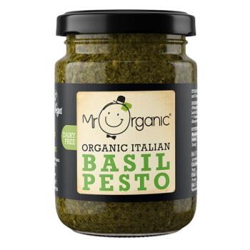 Sos mr.organic pesto cu busuioc vegan eco 130 gr MR ORGANIC