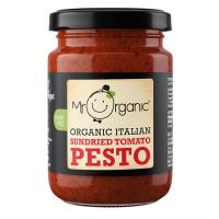Sos mr.organic pesto cu rosii uscate la soare vegan eco