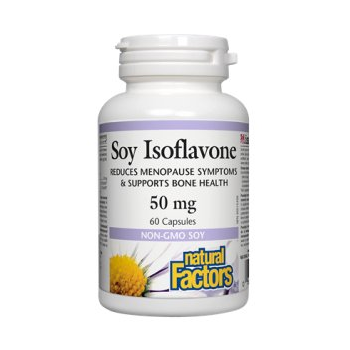 Soy isoflavone 60 cps NATURAL FACTORS